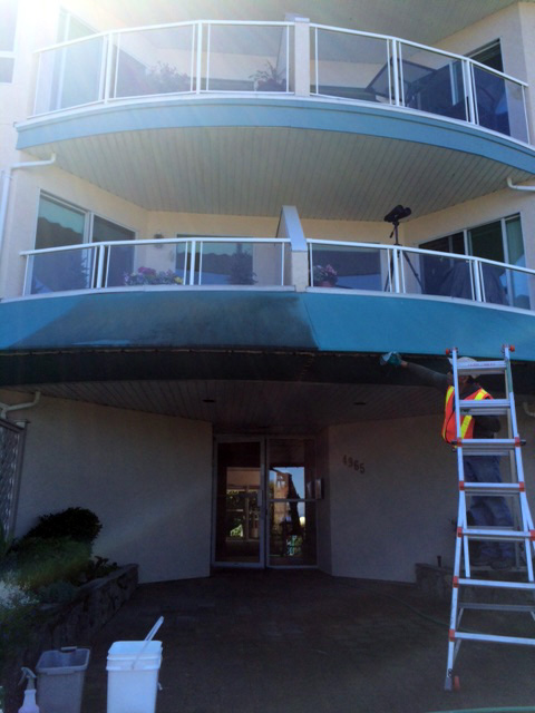 Awning cleaning in Nanaimo