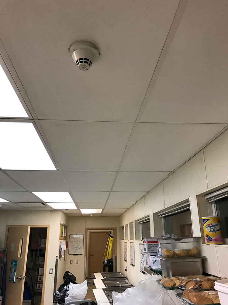 restaurant ceiling cleaning