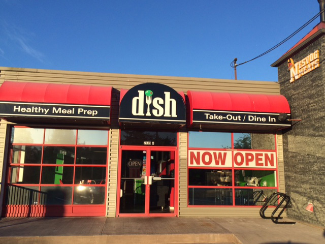 Dish awning cleaning
