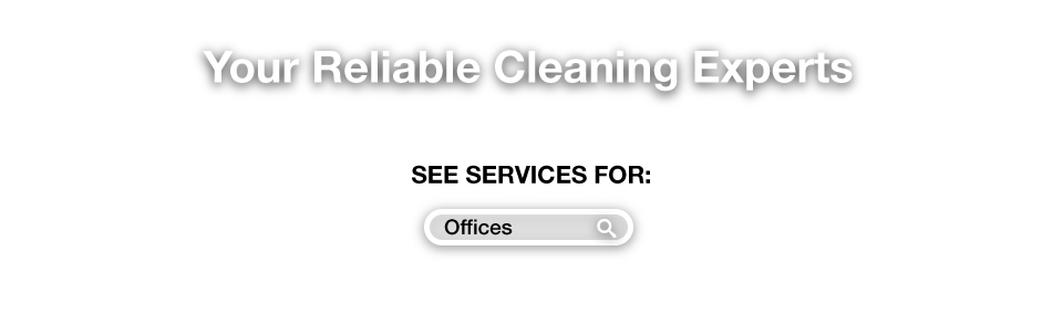 Your Reliable Cleaning Experts - See services for Offices